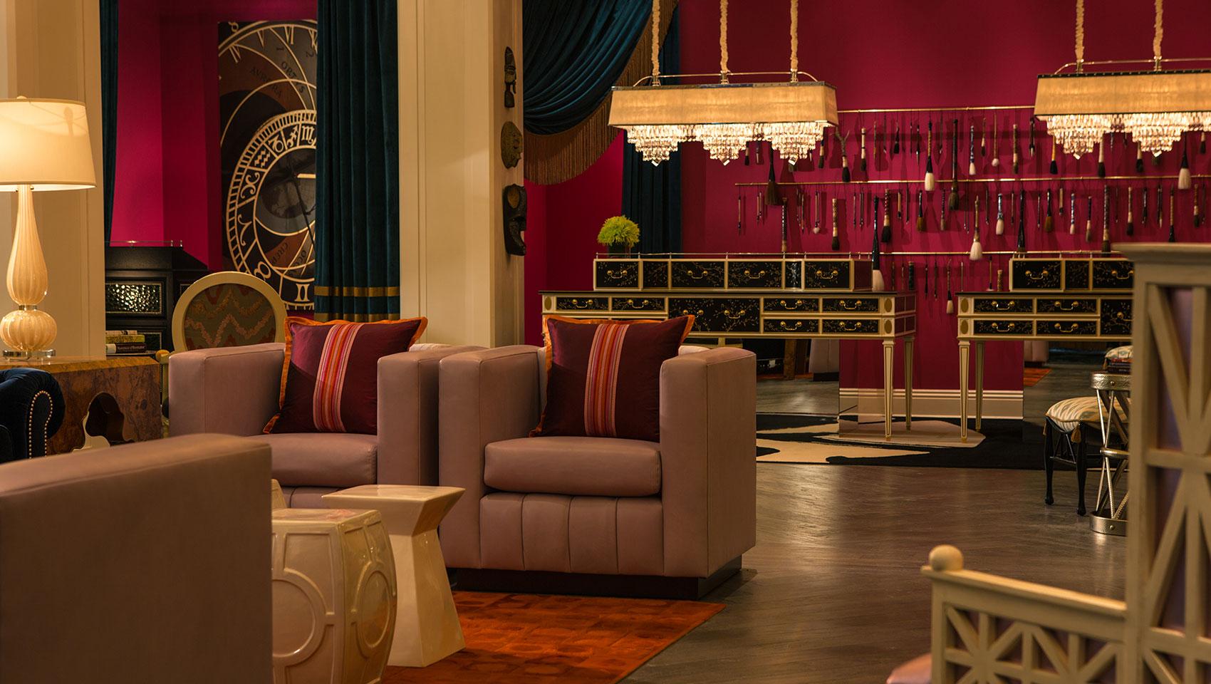 Kimpton Hotel Monaco Philadelphia Living Room