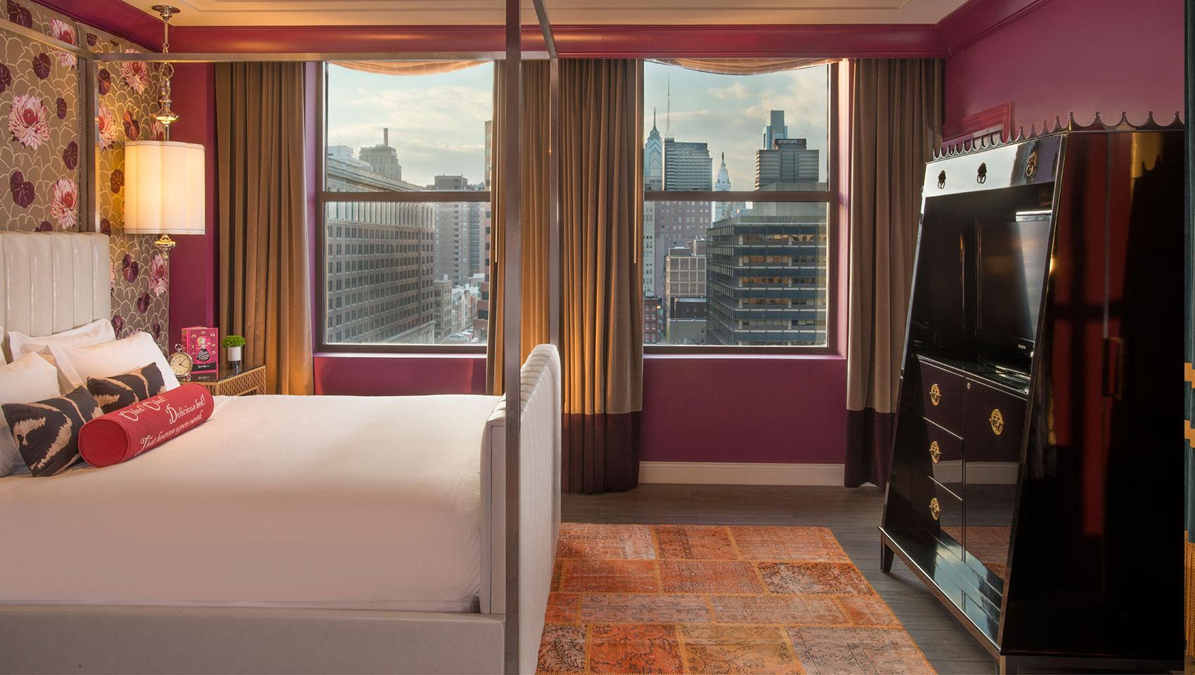 Kimpton Hotel Monaco Philadelphia Guest Room
